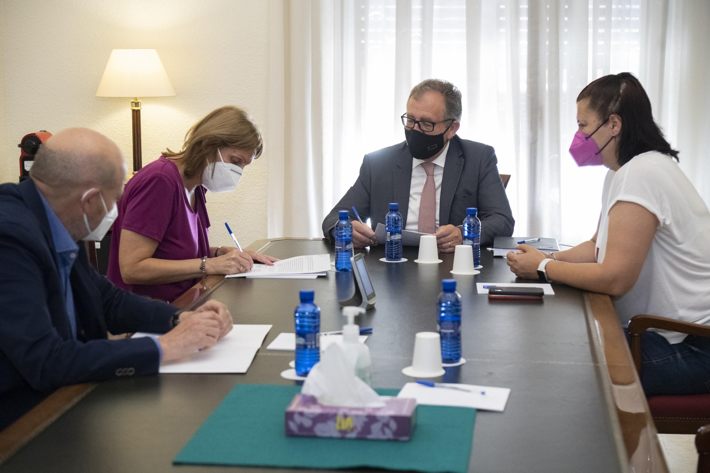 La Diputació contribueix amb 15 mil euros a la modernització del centre de teràpies de la Fundació Amigó