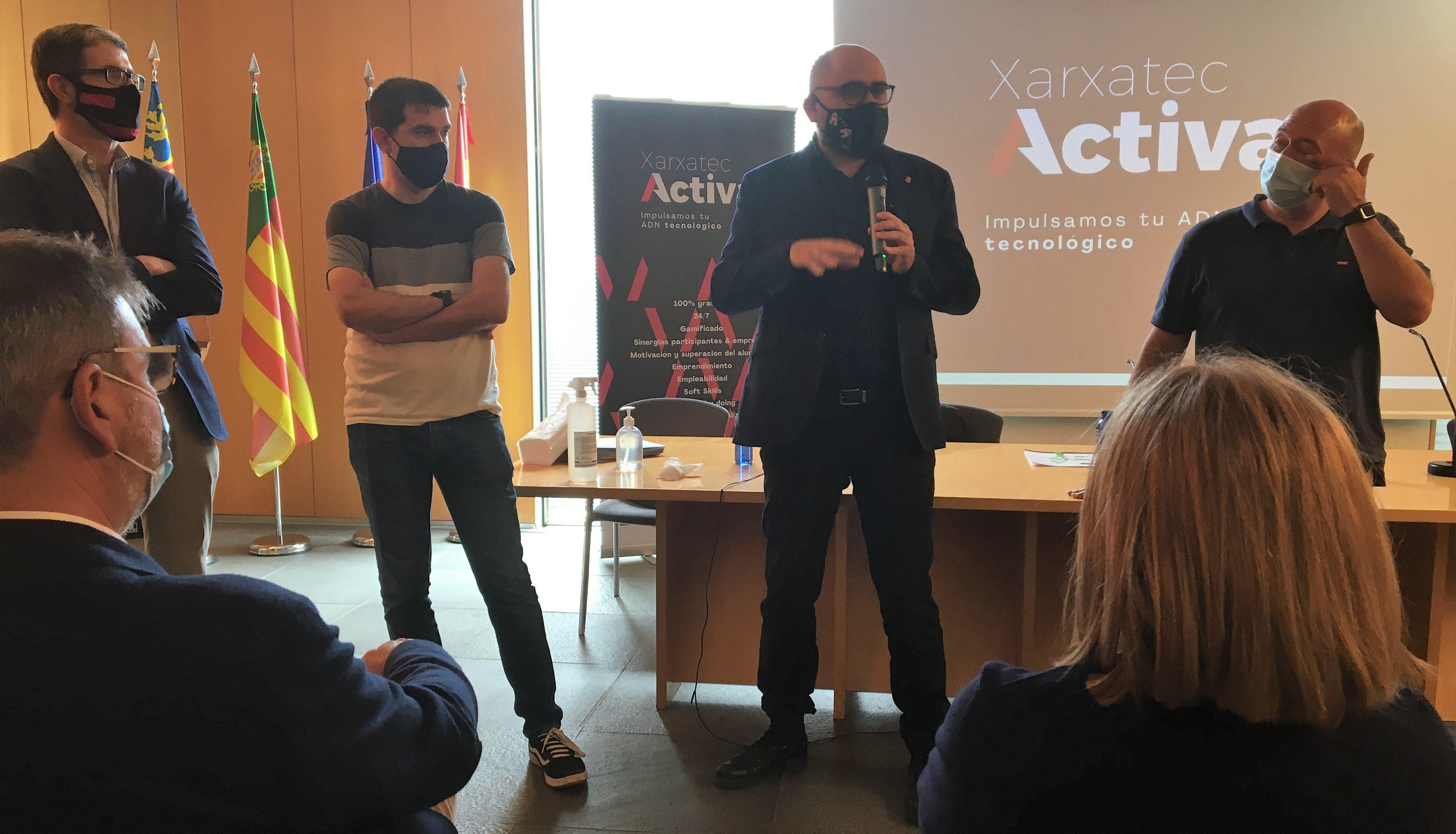 La Diputació impulsa Xarxatec Activa per a la captació tecnològica de les empreses de Castelló
