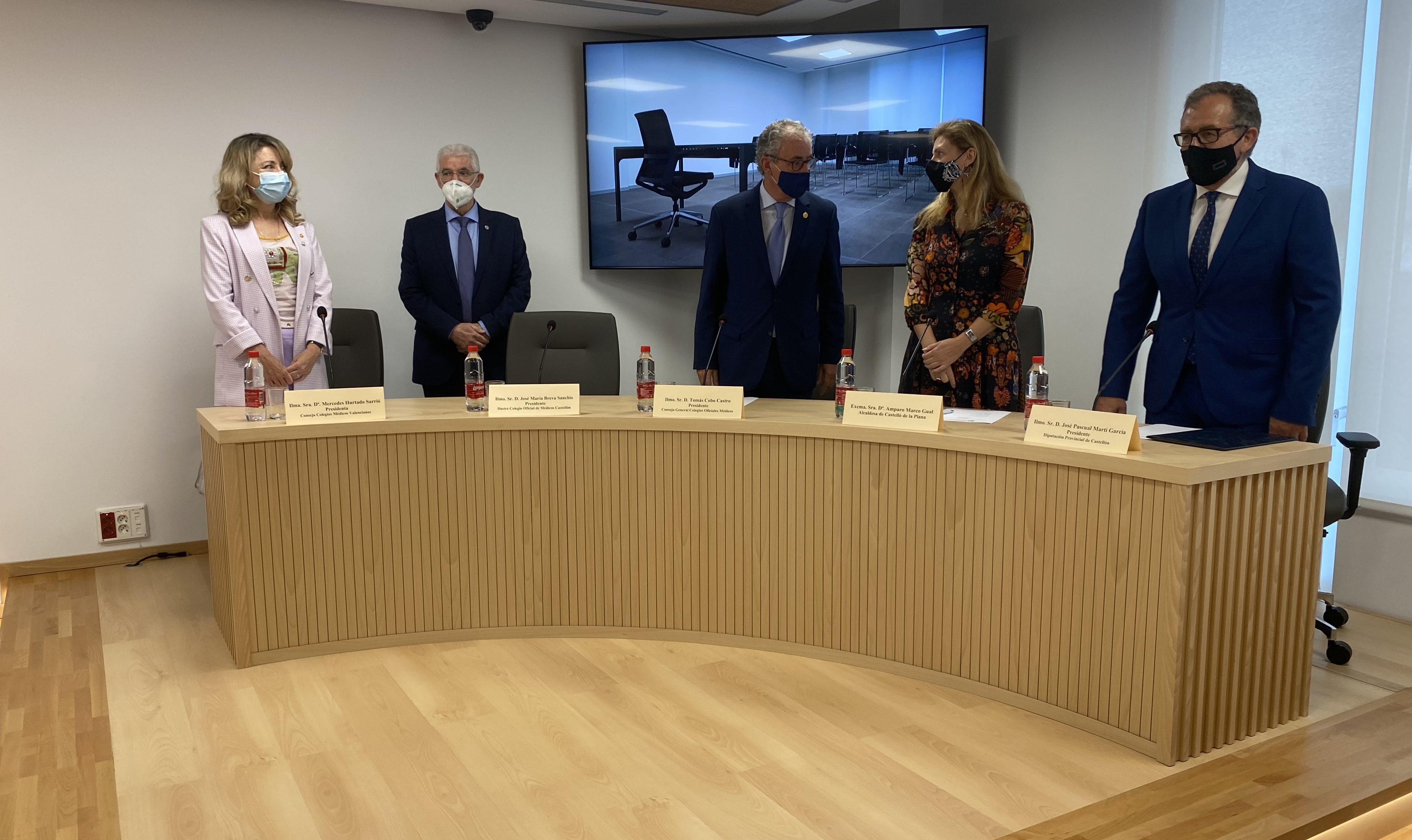 El Col·legi de Metges de Castelló estrena nova seu