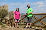 La diputada de Cultura visita els treballs de millora de la seguretat i la imatge del Castell de Polpís