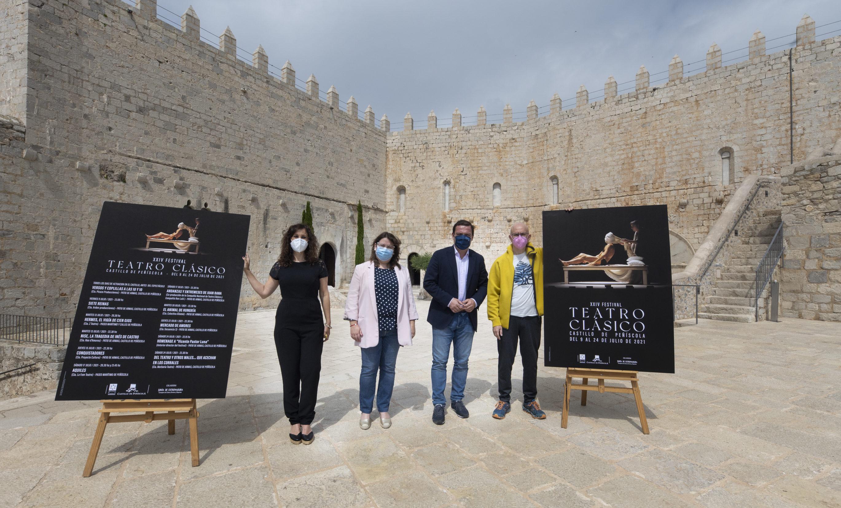 La Diputació presenta el XXIV Festival de Teatre Clàssic del Castell de Peníscola que enguany s'inspira en la comèdia