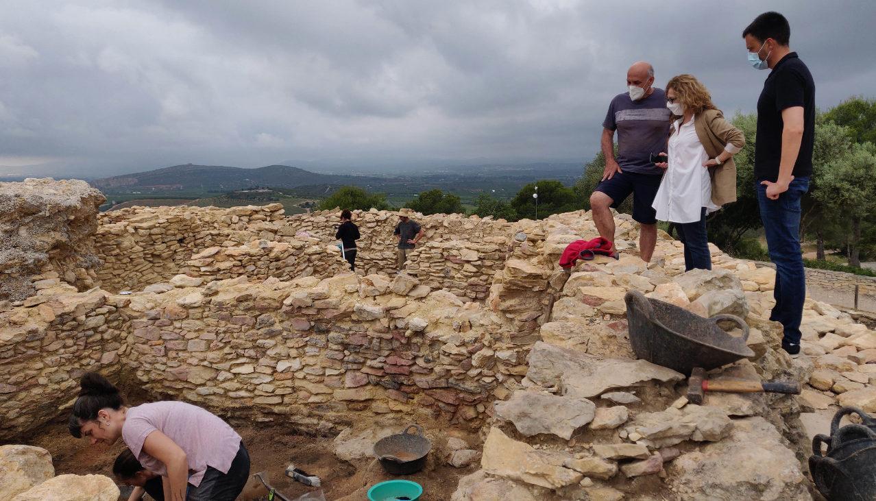 Vinaròs executa una nova campanya d'excavacions al poblat iber del Puig de la Misericòrdia