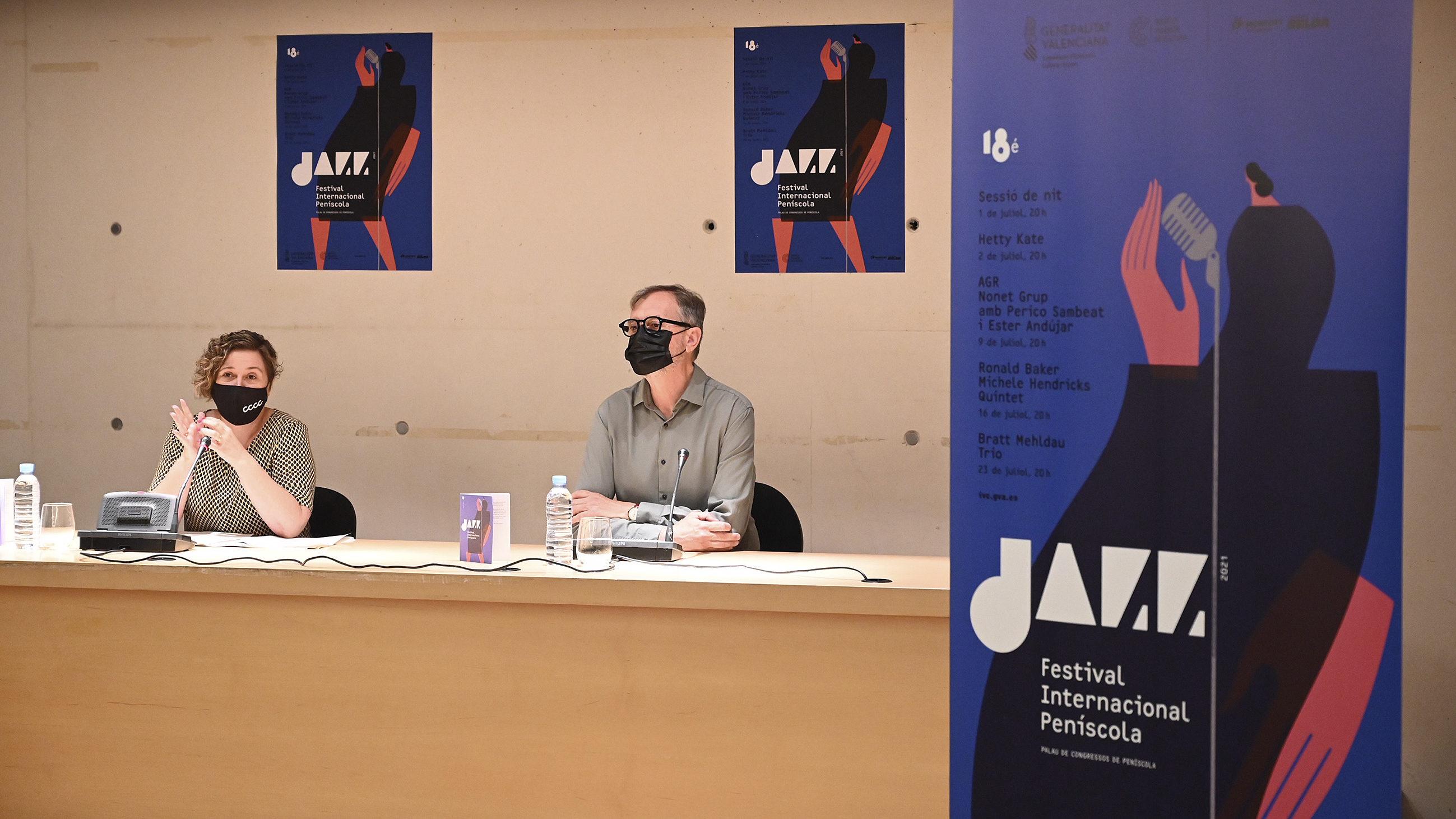 El pianistaBradMehldau, la carismàticaHettyKatei la diva MicheleHendriks al Festival de Jazz de Peníscola