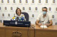 Roda de premsa de l'alcaldessa i el regidor d'Hisenda de Benicarló 17-06-2021