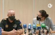 Roda de premsa posterior a la Junta Local de Seguretat de Vinaròs 16-06-2021