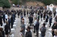 Traiguera ret homenatge a les víctimes de la Covid-19 al paratge de la Font de Sant Vicent 05-06-2021