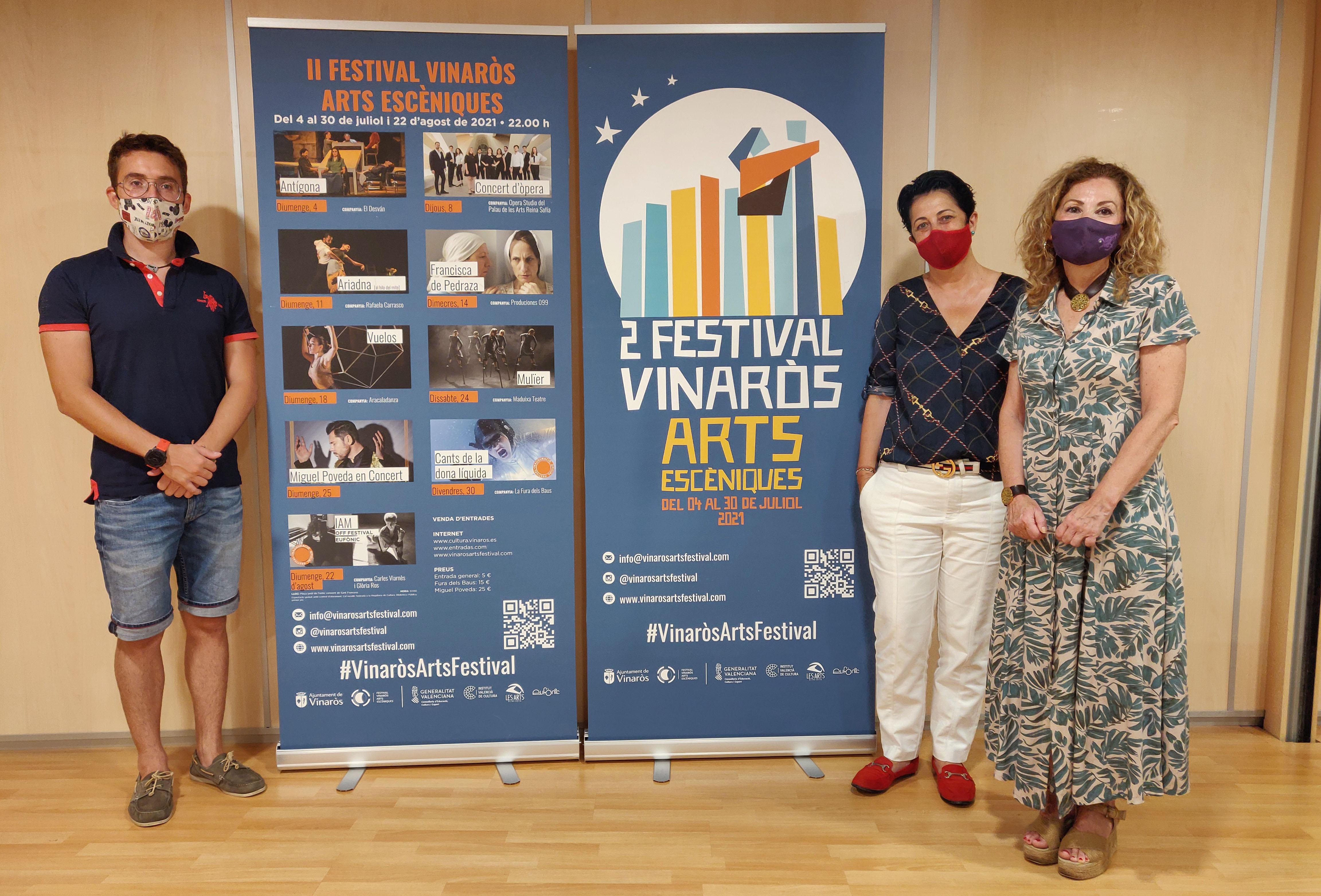 Vinaròs Arts Escèniques presenta el vídeo promocional del festival