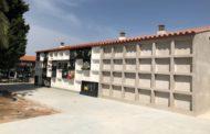 Les obres d'ampliació i millora del cementeri de Santa Magdalena entren en la recta final