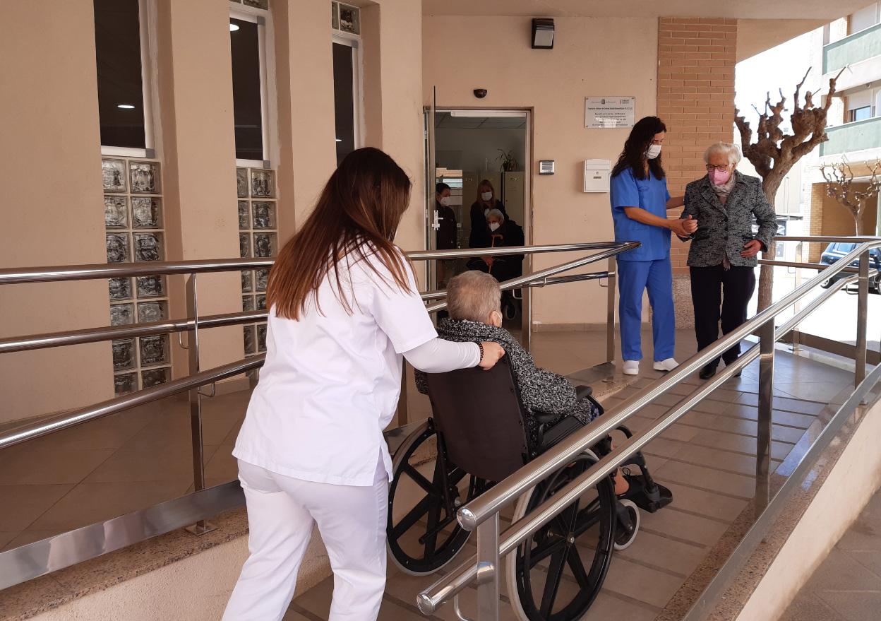 El Centre de Dia Nou d'Octubre de Benicarló cessa l'activitat per un cas positiu de laCovid-19