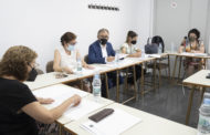 Martí participa en la Junta Rectora de la UNED a Vila-real, que ratifica més de 600.000 euros per al 2022