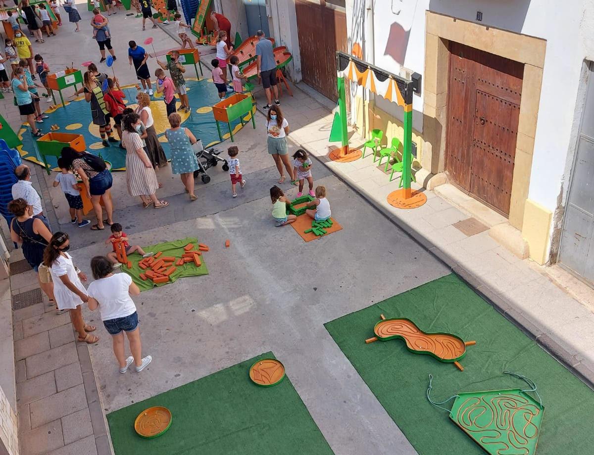 El bon temps retorna a Sant Jordi l'activitat de les Festes Majors que se celebren fins al 2 d'agost