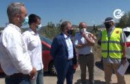 Visita a les obres d'asfaltat de la carretera CV-101 16-07-2021
