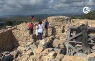Visita al poblat iber del Puig de la Misericòrdia de Vinaròs 09-07-2021