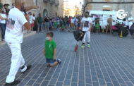 Tancament infantil amb bous de carretilla a Sant Jordi 24-07-2021