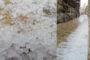 Tempesta amb granís a Ares del Maestrat