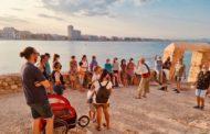 Excel·lent acolliment de les primeres visites 'Marineres' a la ciutadella de Peníscola