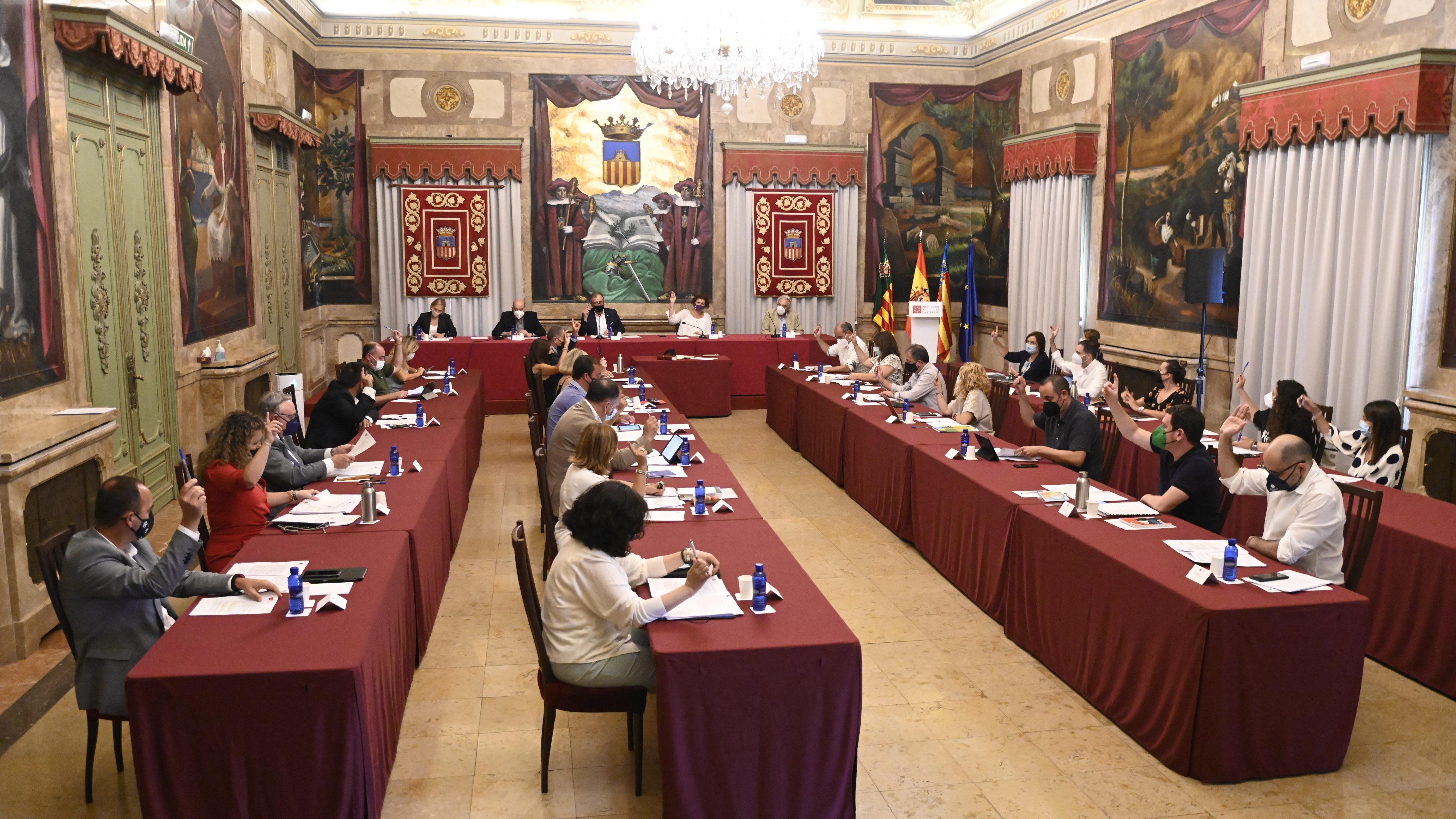La Diputació aprova per unanimitat obrir una taula de diàleg social en el Consorci Hospitalari Provincial