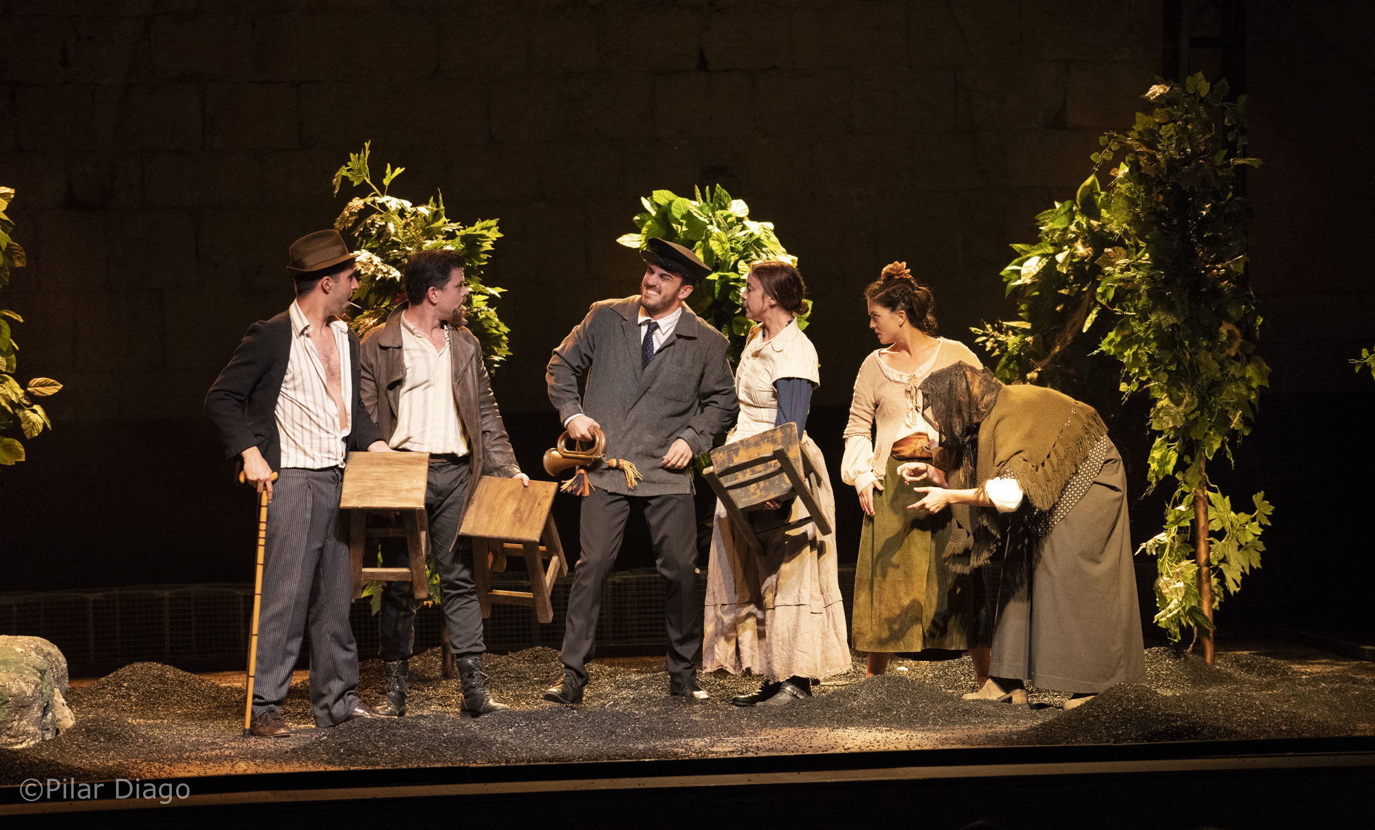 El Festival de Teatre Clàssic de Peníscola pren la recta final amb l'atrevida funció de 'L'animal d'Hongria'