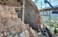 Comença la restauració del Calvari de Canet lo Roig