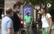 La consellera d'Agricultura, Desenvolupament Rural, Emergència Climàtica i Transició Ecològica visita Vinaròs 11-08-2021