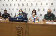 Roda de premsa posterior a la Junta de Seguretat de Festes de Benicarló 12-08-2021