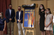Una obra d'Anna Fonollosa, il·lustra el cartell de les Falles de Benicarló 2021
