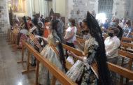 Missa solemne concelebrada a l'església Arxiprestal de Sant Mateu 21-08-2021