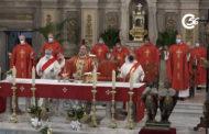 Missa en honor als patrons de Benicarló a l'església de Sant Bartomeu 24-08-2021