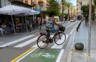 Benicarló habilita nous ciclocarrers per a millorar la convivència amb les bicicletes