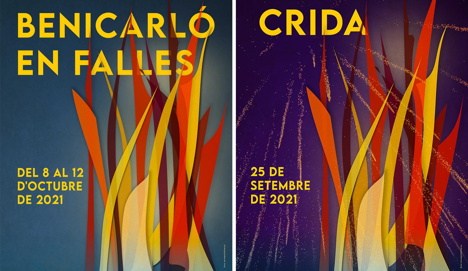 Les Falles de Benicarló 2021 arrancaran el dissabte amb la 'Crida' de les Falleres Majors
