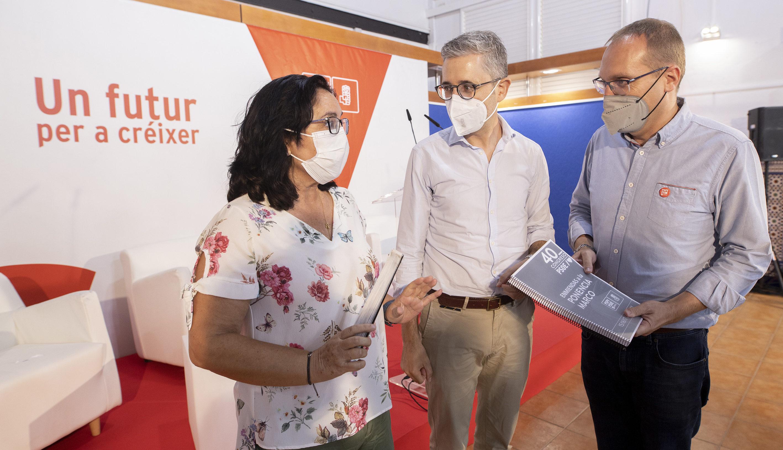 El PSPV-PSOE provincialfa entrega de les 213 esmenes perquè siguen incloses en la ponència marc del 40 Congrés