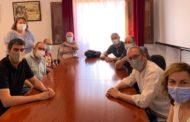 Blanch dialoga amb càrrecs socialistes dels Ports sobre les polítiques actives d'ocupació i les condicions laborals