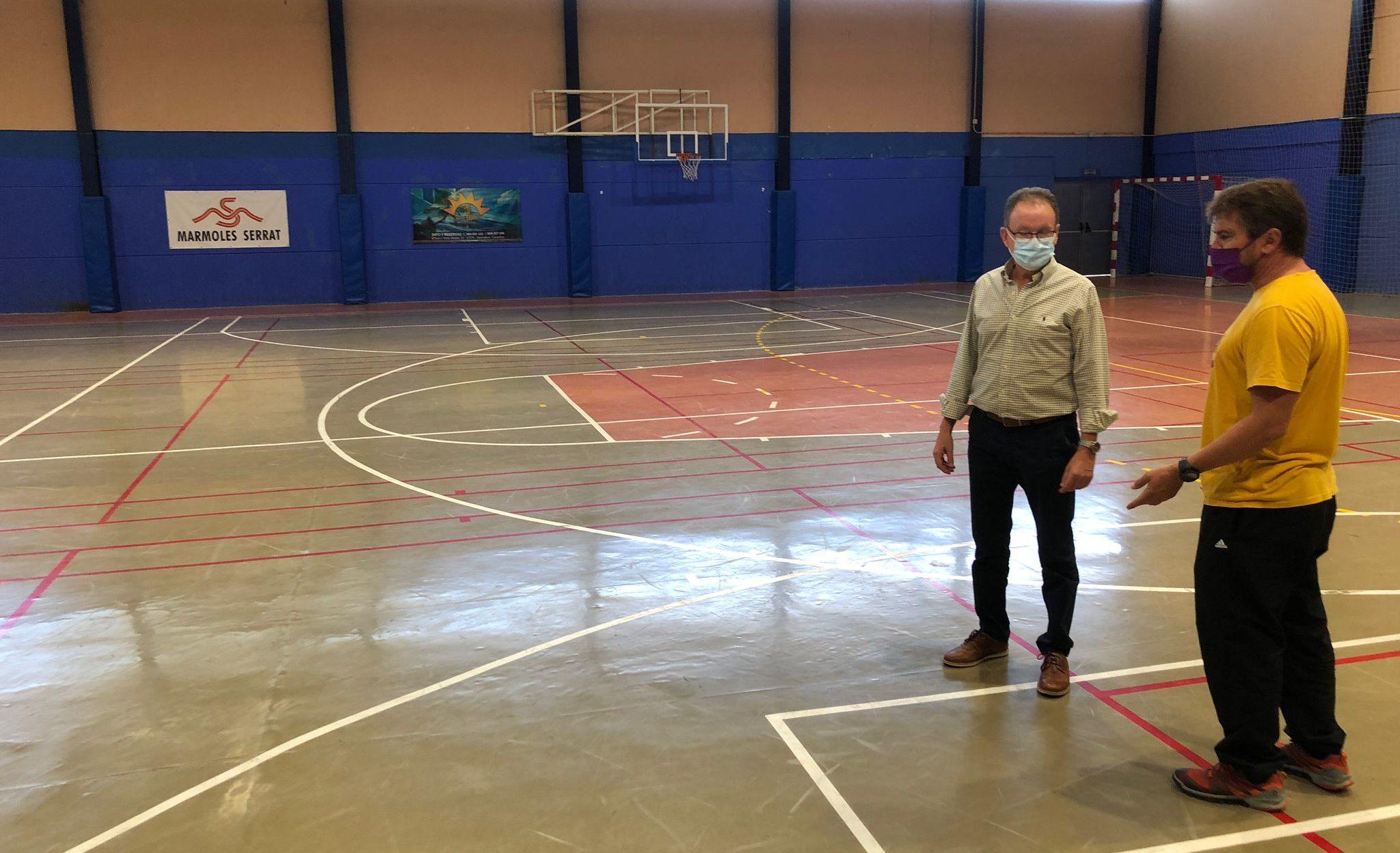 Alcalà-Alcossebre renovarà el paviment del Pavelló Poliesportiu Municipal