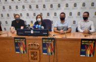 Ajuntament i Junta Local Fallera escenifiquen el suport total a les Falles de Benicarló 2021
