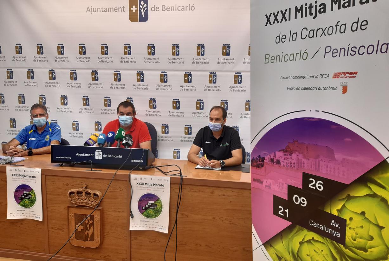 La XXXI Mitja Marató de la Carxofa de Benicarló se celebrarà el 26 de setembre