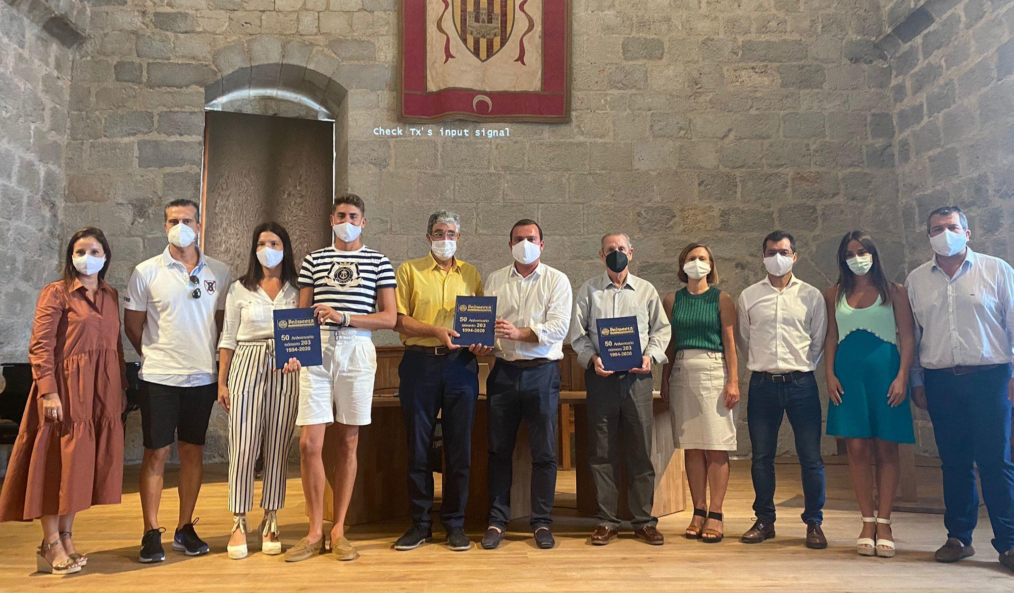 El Saló Gòtic del Castell acull la presentació del llibre del 50 Aniversari de la 'Revista Peníscola'