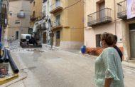 Comencen les obres del carrer Sant Roc i la plaça Vella de Càlig