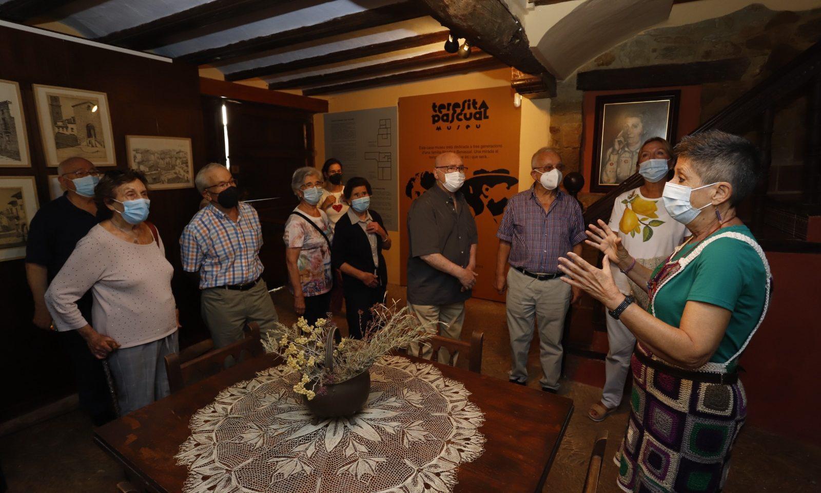 La història de Benassal i la famíliaPascualMiralles a la Casa MuseuTeresitaPascual