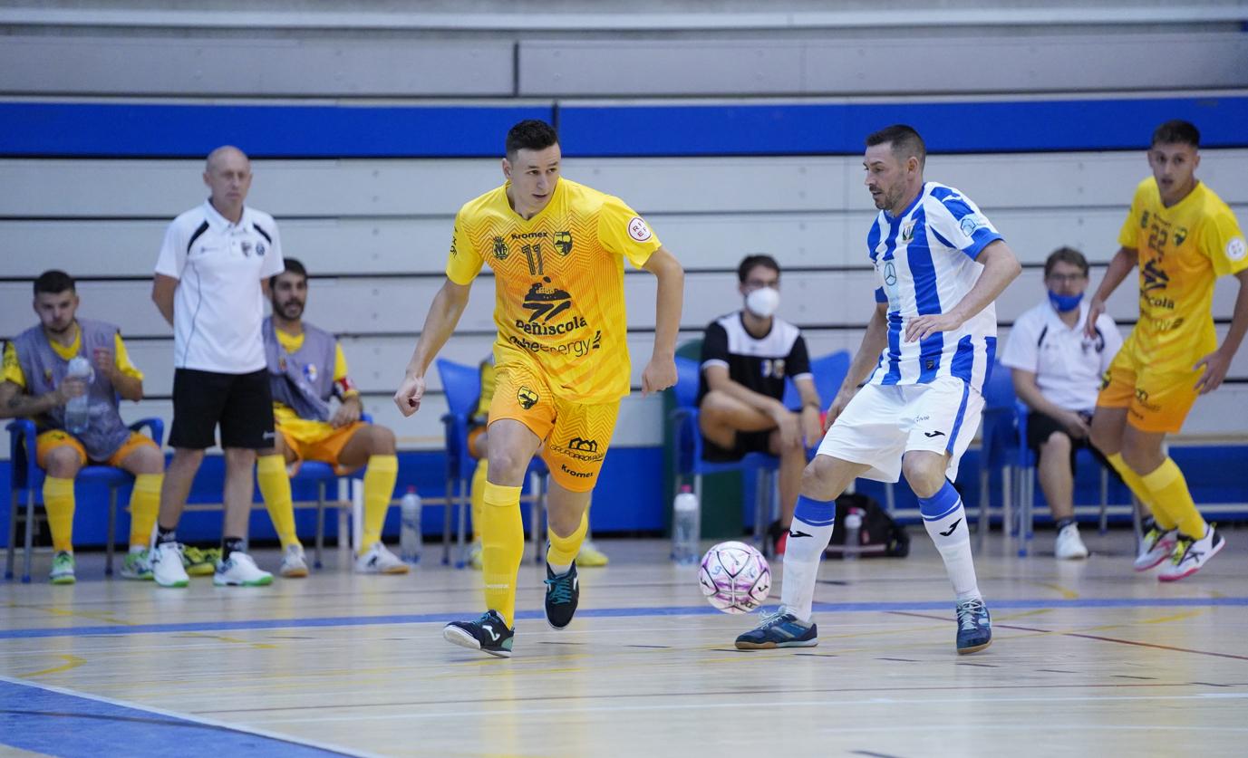 El Peníscola Globeenergy obri la temporada amb victòria a Leganés (1-2)
