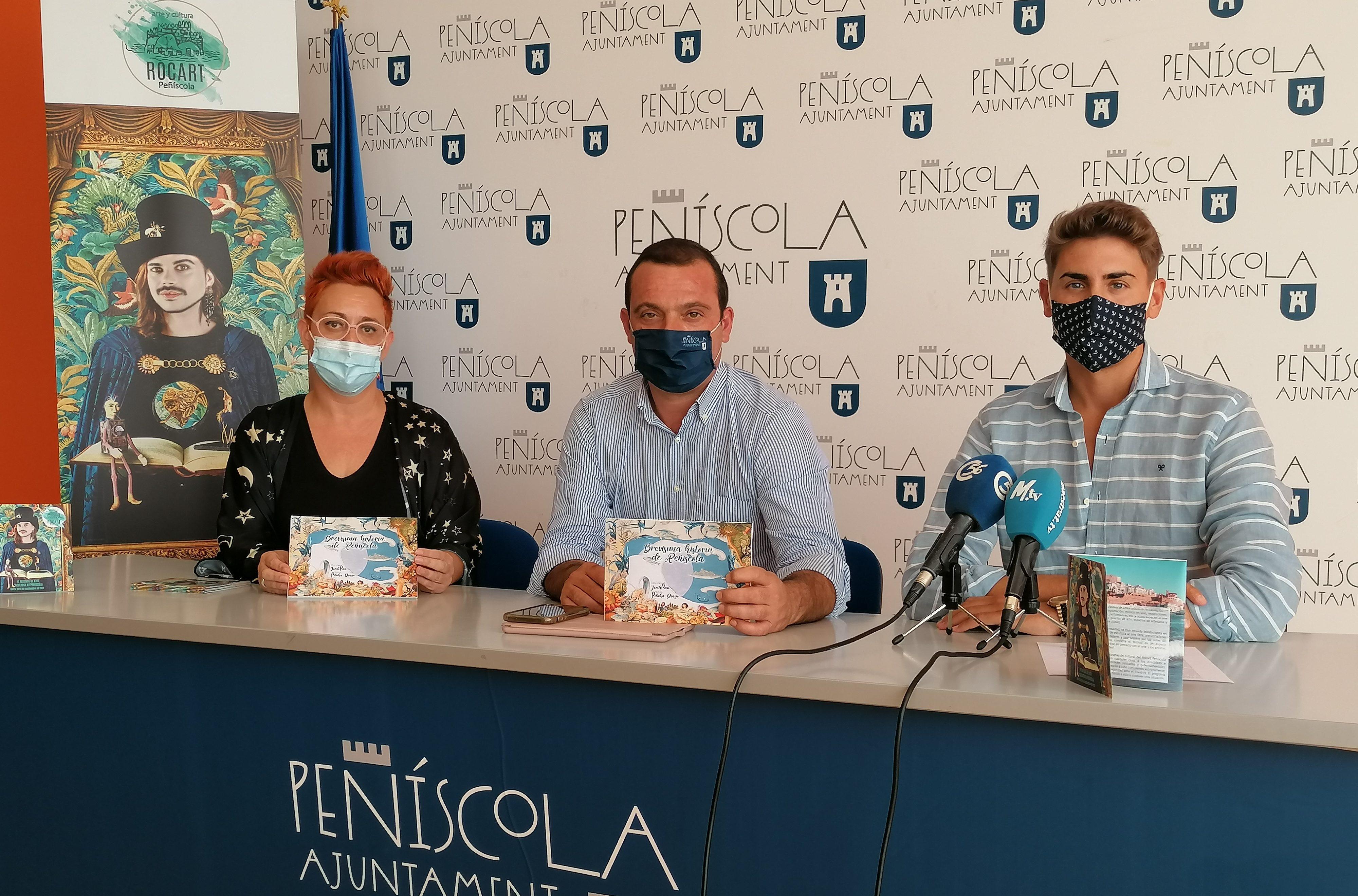 El Festival 'Rocart' convertirà la ciutadella de Peníscola en un museu efímer