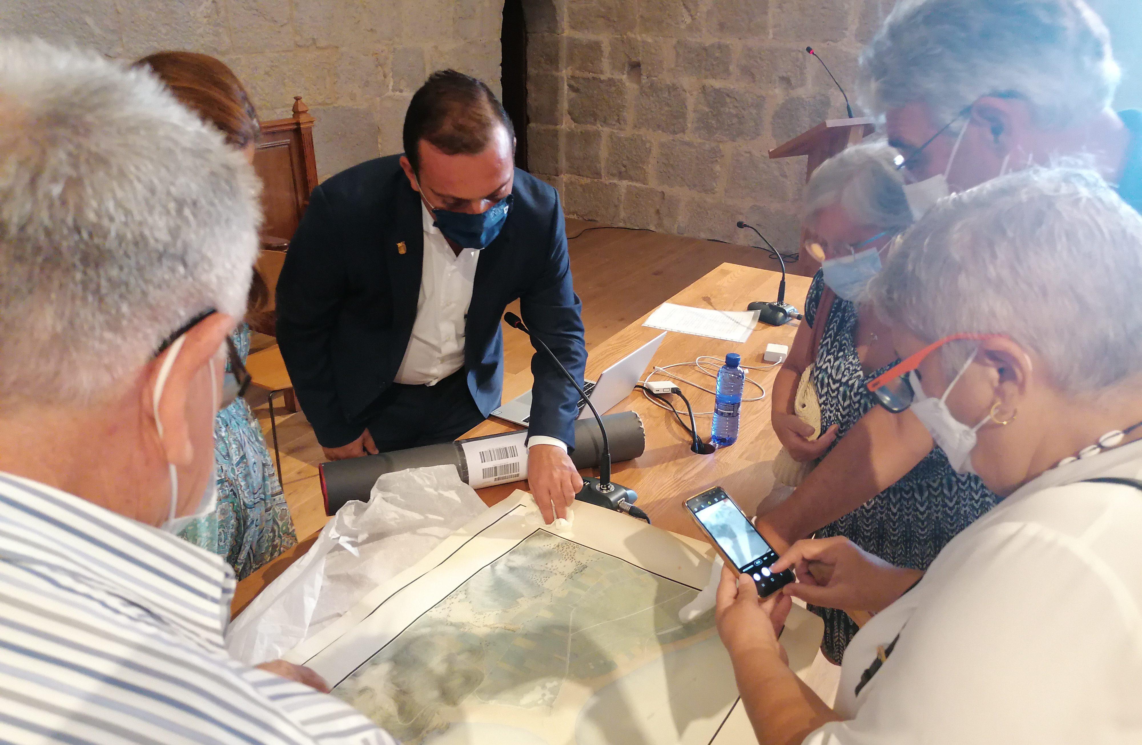 Peníscola adquireix un mapa i plànol de la ciutat elaborat per enginyers de Napoleó
