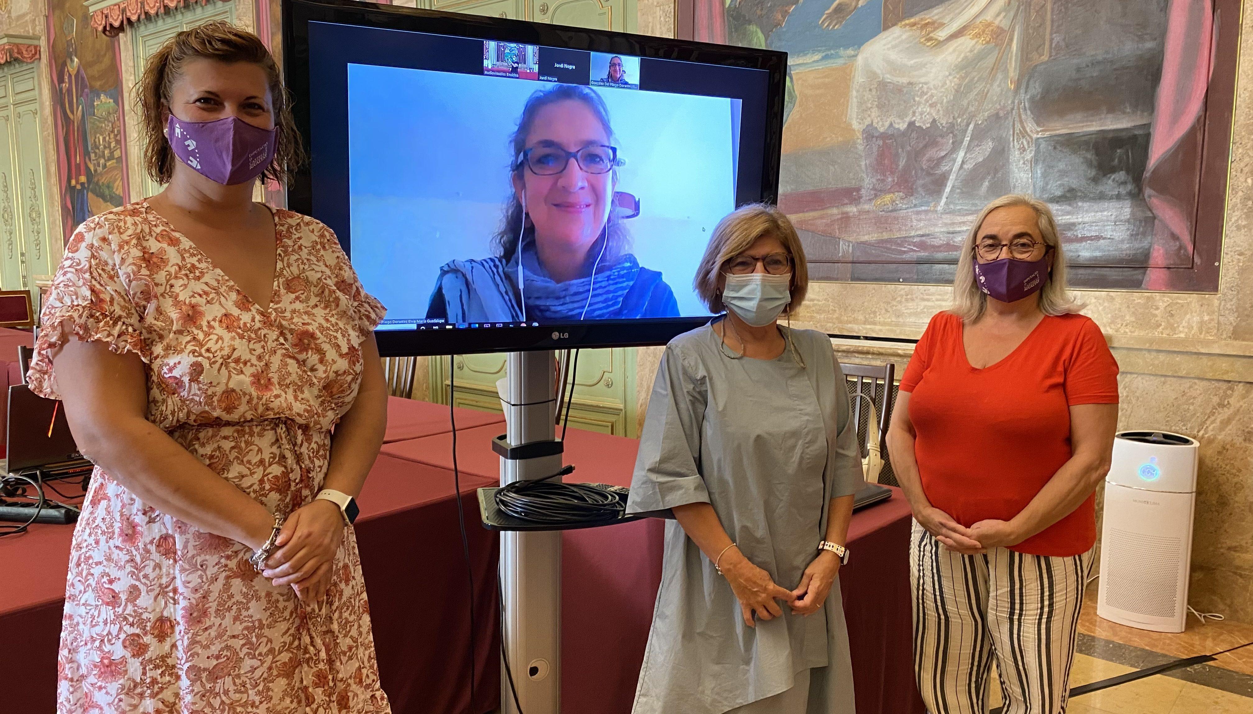 La Diputació presenta 'CaDi', el traductor de llenguatge inclusiu