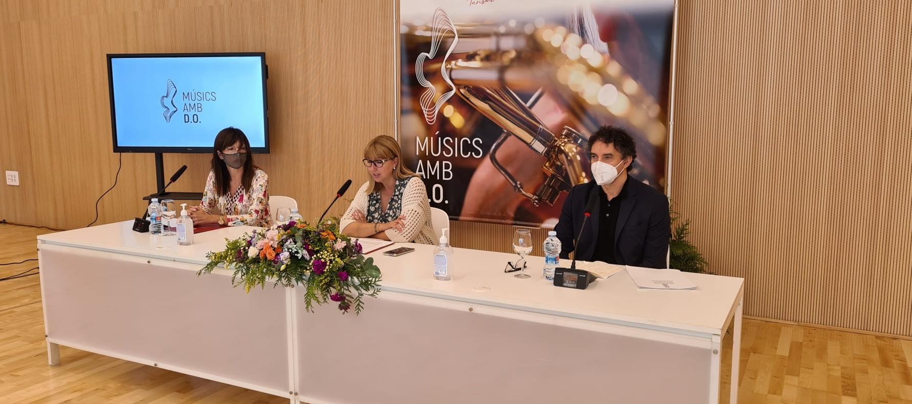 Turisme CV i la Federació de Societats Musicals de la CV llancen la campanya 'Músics amb D.O.'