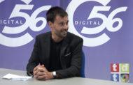 Guillem Alsina, alcalde de Vinaròs, a L'ENTREVISTA de C56 17-09-2021