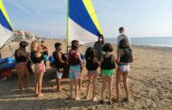 Els escolars de Peníscola gaudeixen de la 'Setmana Blava' amb activitats nàutiques