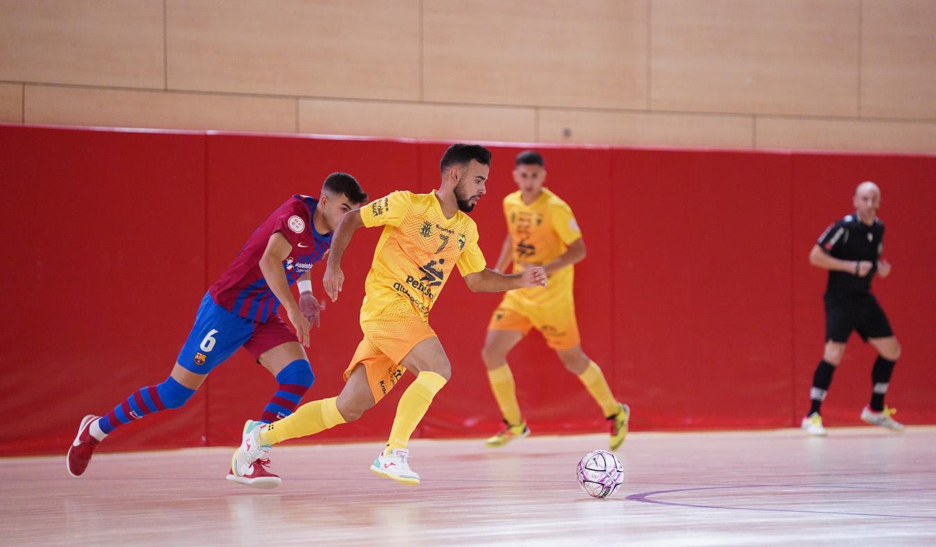 El Peníscola Globeenergy cau golejat davant el Barça B (6-2)