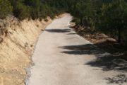 Palanques formigona un tram del PR-CV-245 Roca Tallà