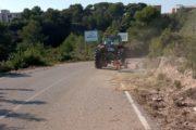 Sant Jordi arregla els camins rurals i la zona del Bovalar danyats per les pluges