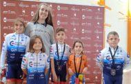 Bons resultats dels esportistes de Càlig en la Lliga de les Escoles de Ciclisme