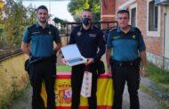 La Guàrdia Civil de Benicarló fa un agraïment al Policia Local de Càlig